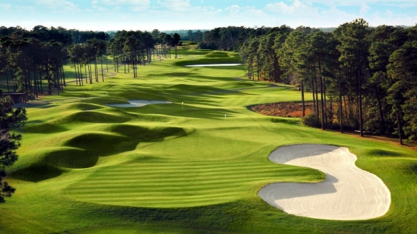 free golf instruction videos - Pic of a golf hole