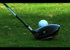 Top Rated Golf Drivers - Picture of a top rated golf driver and ball ready to be hit