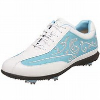 Golf Shoes Sale - Picture of a ladies golf shoe on Sale.