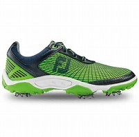 Golf Shoes Sale - Picture of a green golf shoe on sale