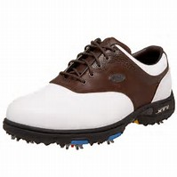 Golf Shoes Sale - Picture of a Brown/White Shoe