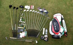 Pic of golf supplies