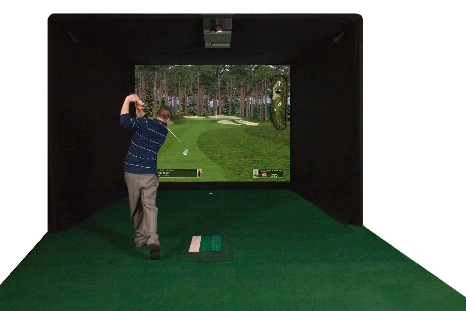 Applied golf technology - golf simulator