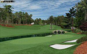Golf Club Shafts - Augusta National Pic